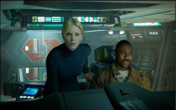 Movie Prometheus Alien Charlize Theron Idris Elba HD Wallpaper | Background Image