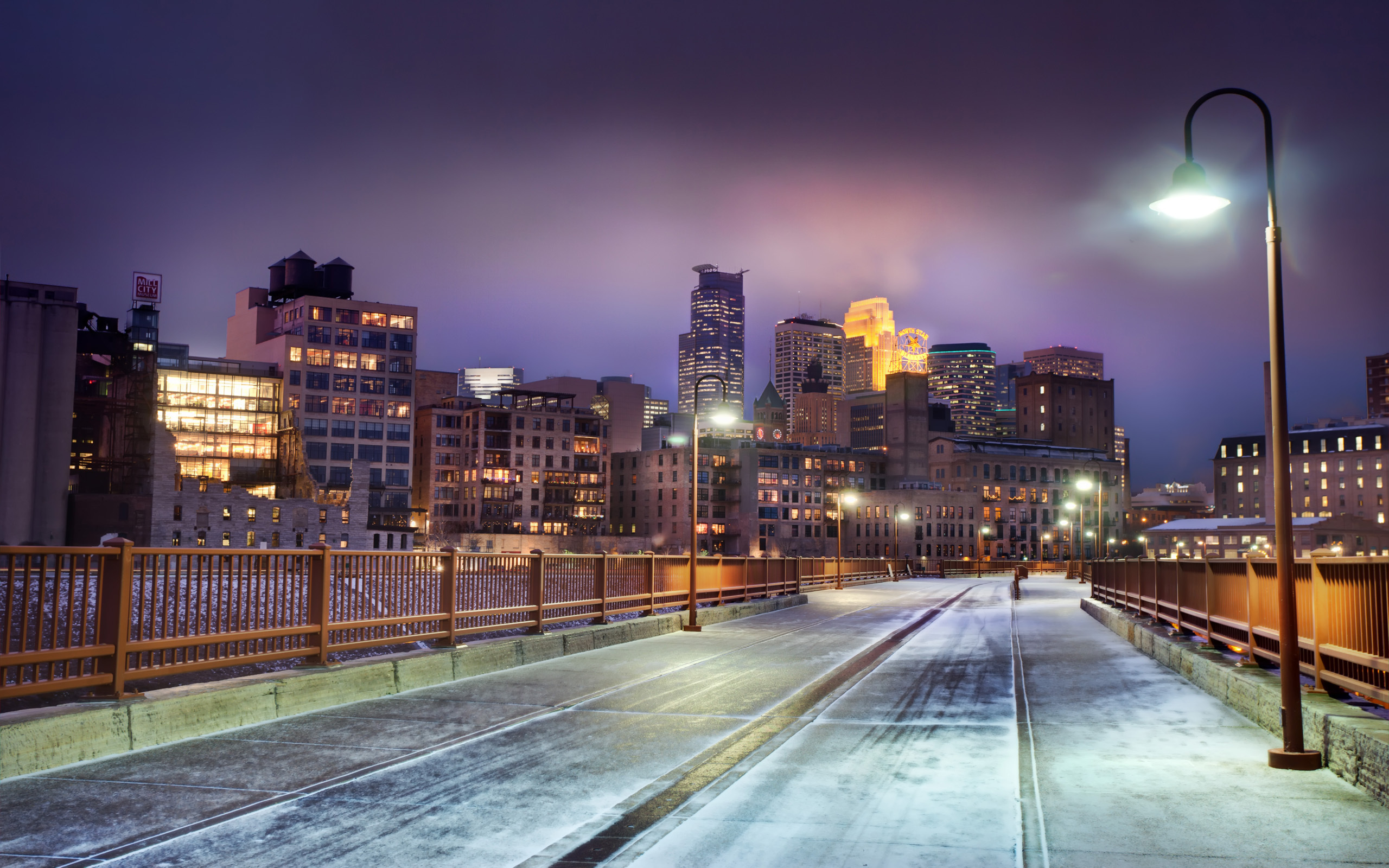 Minneapolis Full HD Wallpaper And Background Image