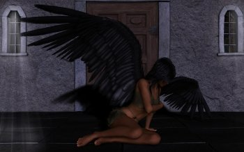 Dark - Angel Wallpapers and Backgrounds ID : 189000