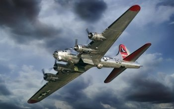 Military - Boeing B-17 Flying Fortress Wallpapers and Backgrounds ID : 189172