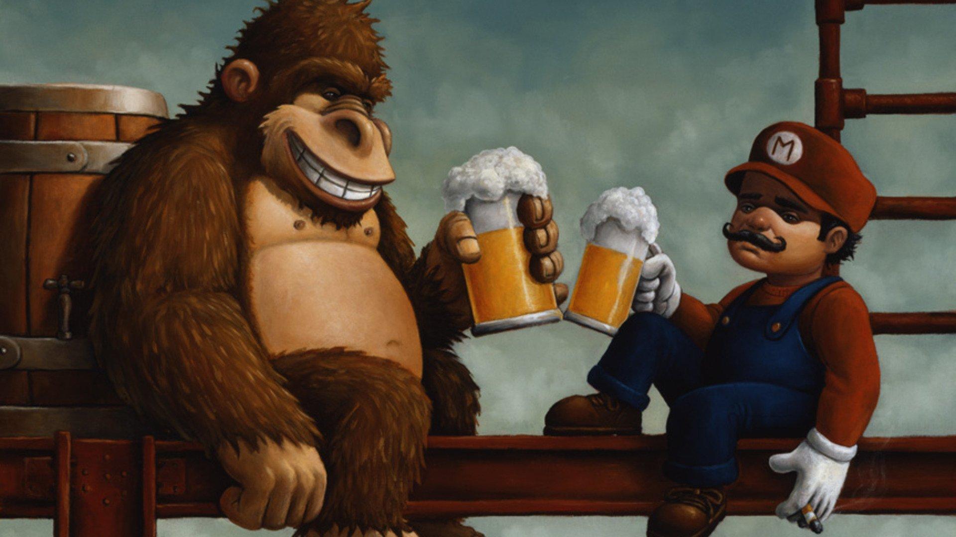 Donkey Kong Fondo De Pantalla Hd Fondo De Escritorio