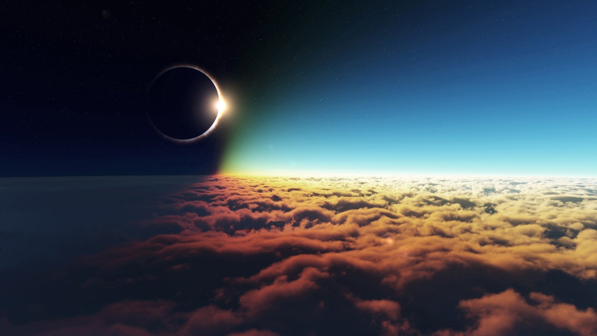 Solar Eclipse Full HD Wallpaper and Background 1920x1080 ID191502