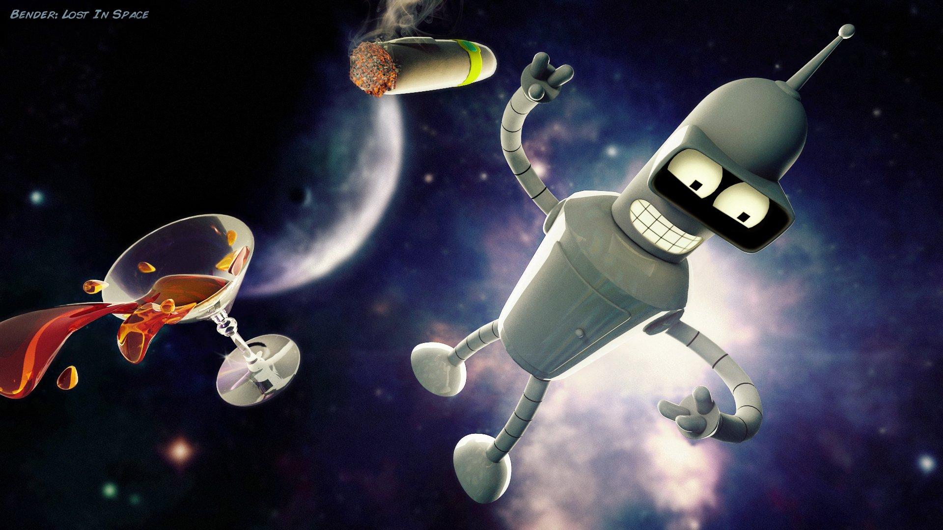 TV Show - Futurama  Bender (Futurama) Wallpaper