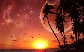 Fantascienza - Sunrise Wallpapers and Backgrounds ID : 1922