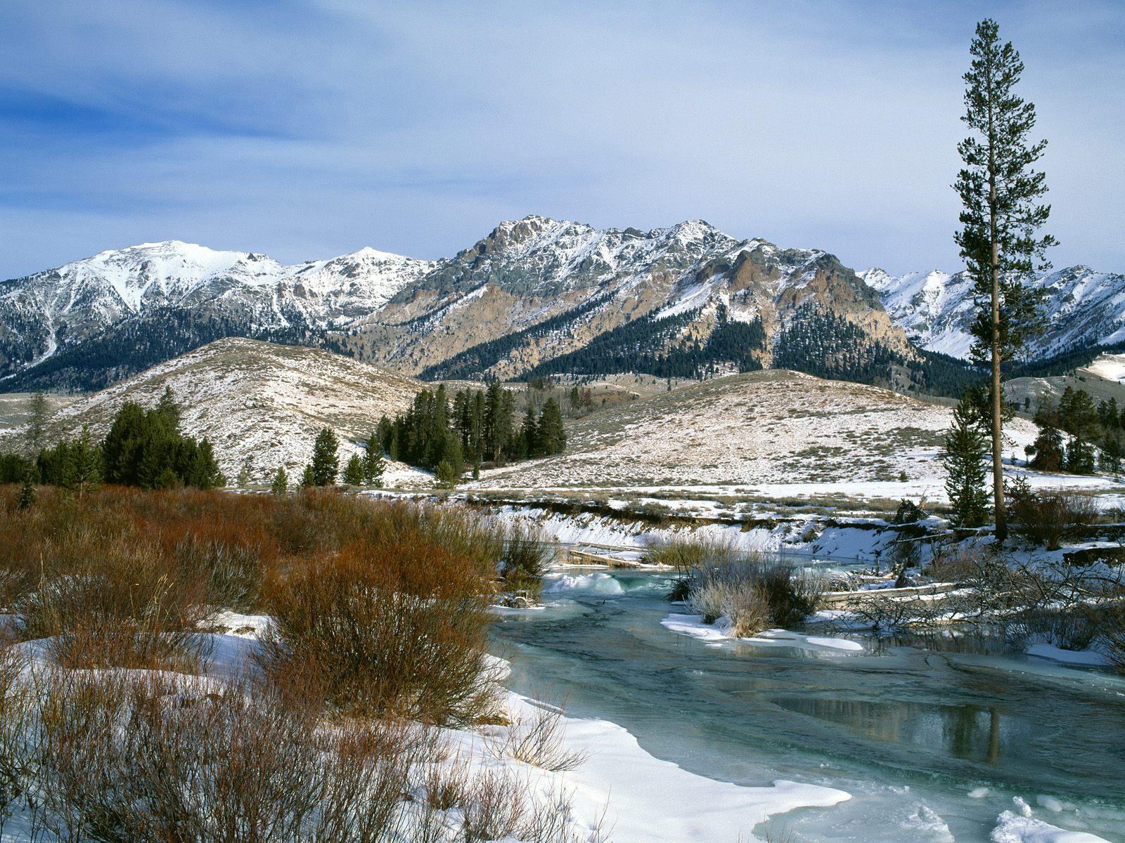 Earth - Winter  Landscape Wallpaper