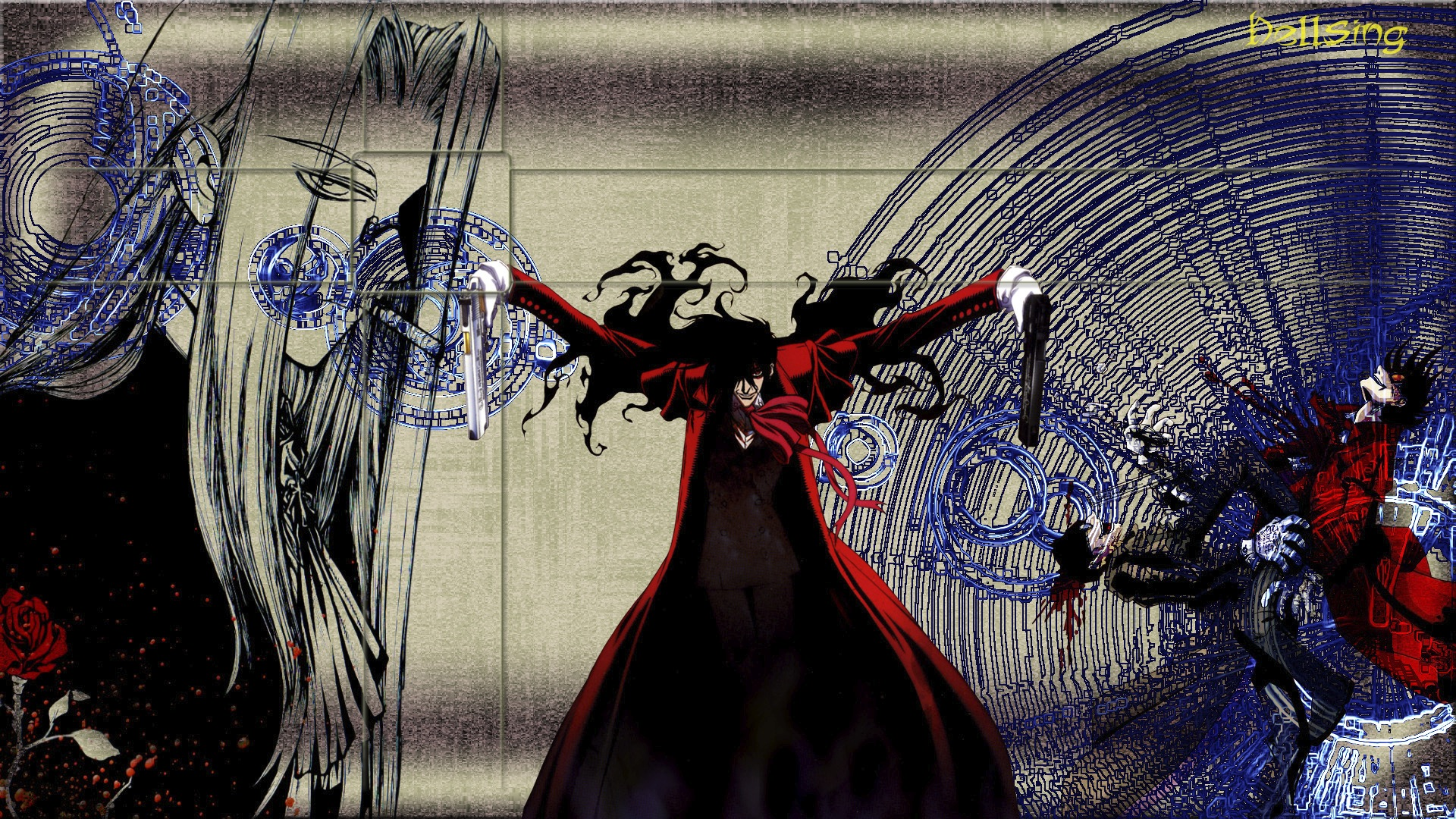 Hellsing full hd wallpaper and background image - Wallpaper hd 1920x1080 anime ...