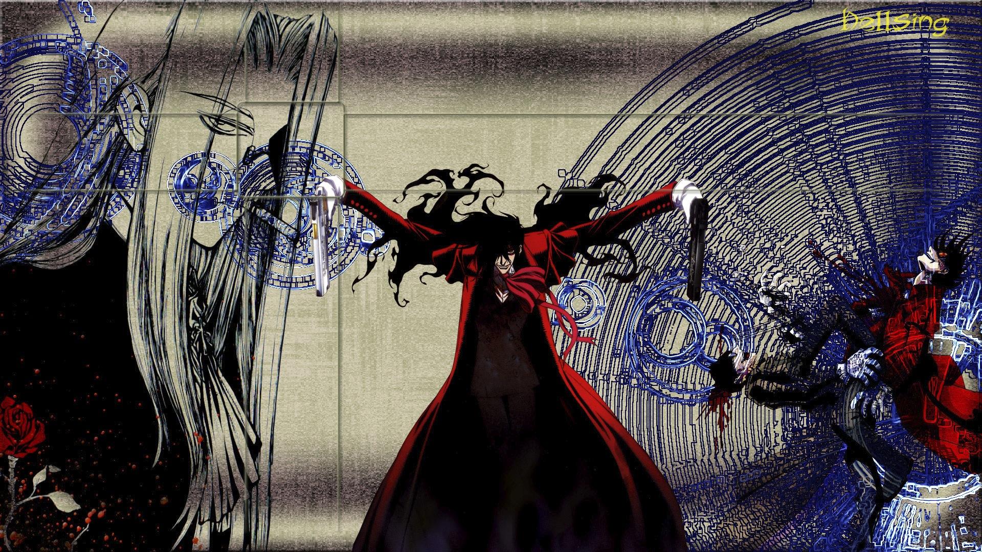 Hellsing full hd wallpaper and background image - Full hd anime wallpaper pack ...