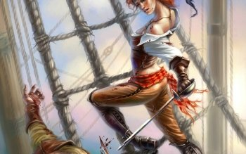 Fantasy - Pirate Wallpapers and Backgrounds ID : 195132
