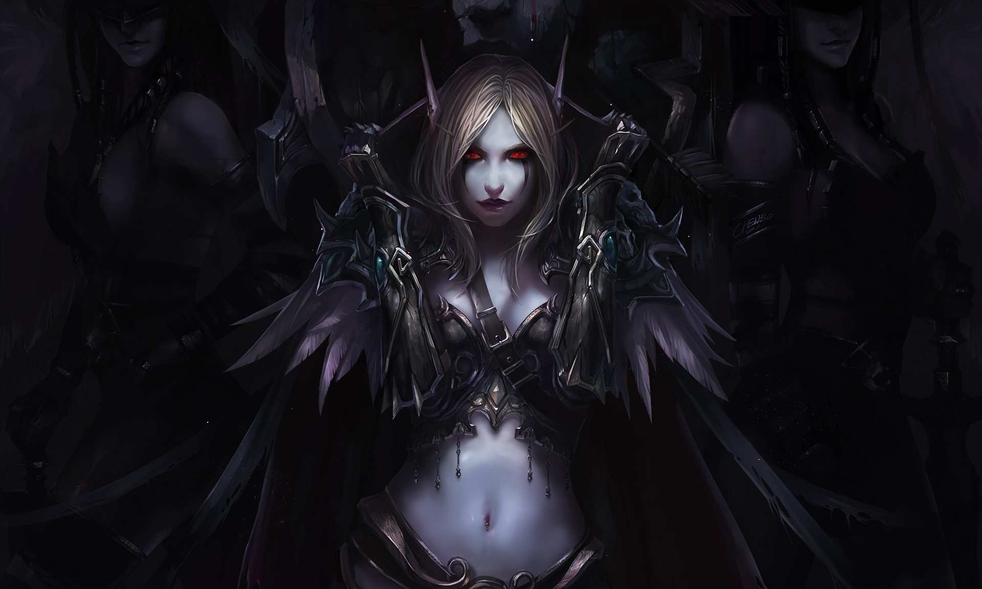 Video Game - World Of Warcraft  Chenbo Elf Art Wallpaper