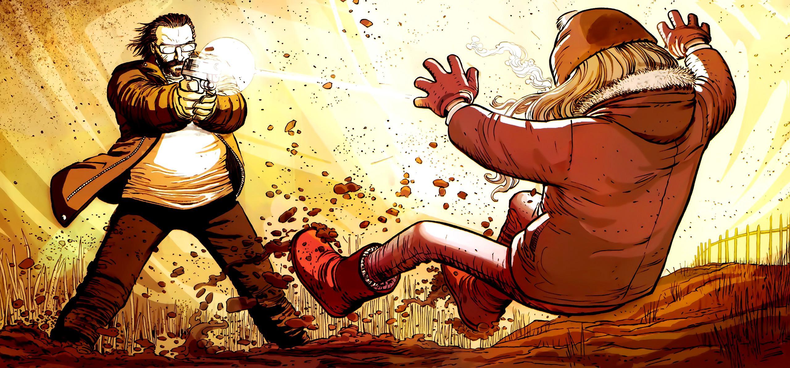 Movie - Kick-Ass  Superhero Comics Wallpaper