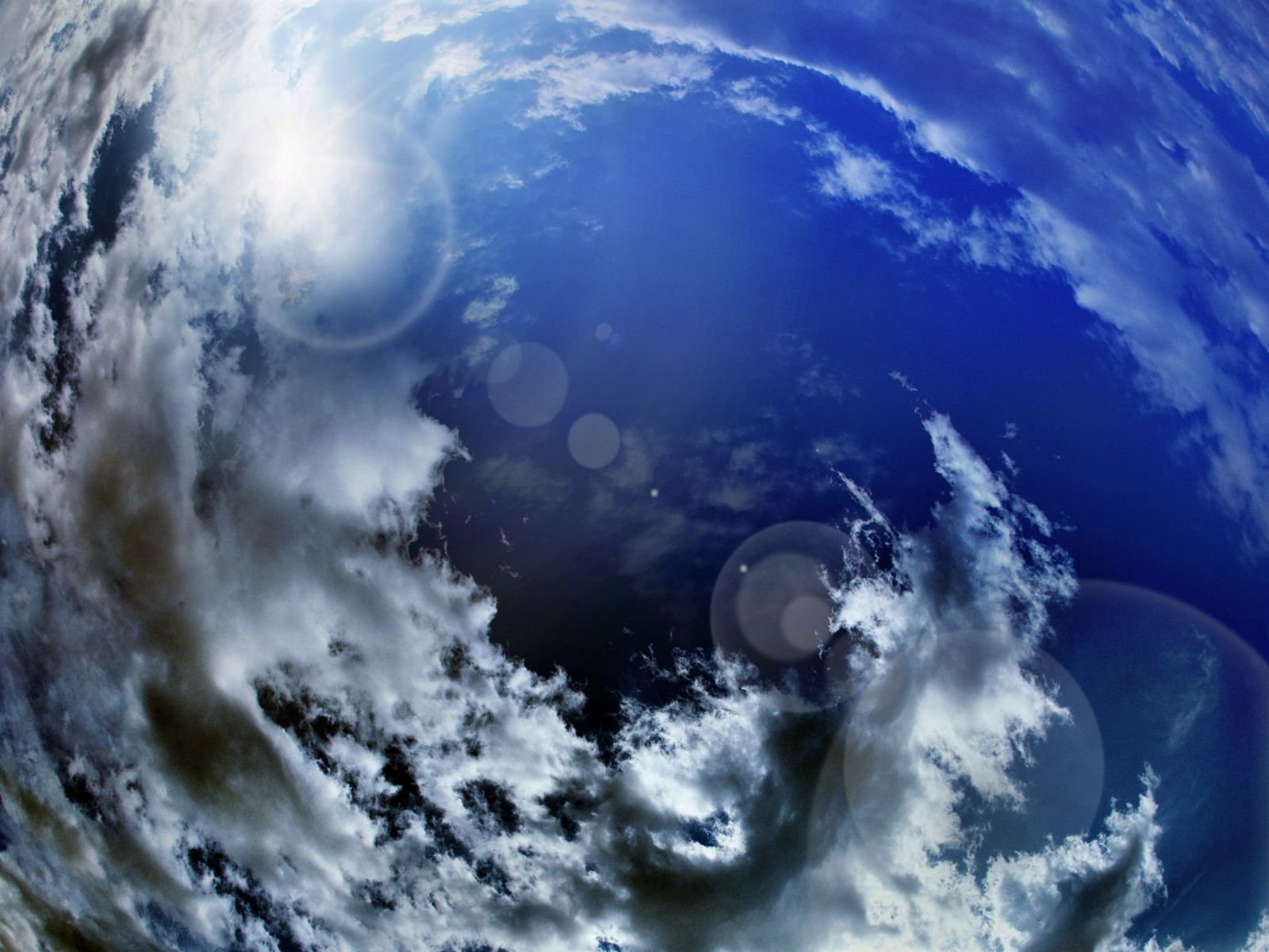Earth - Sky  Wallpaper