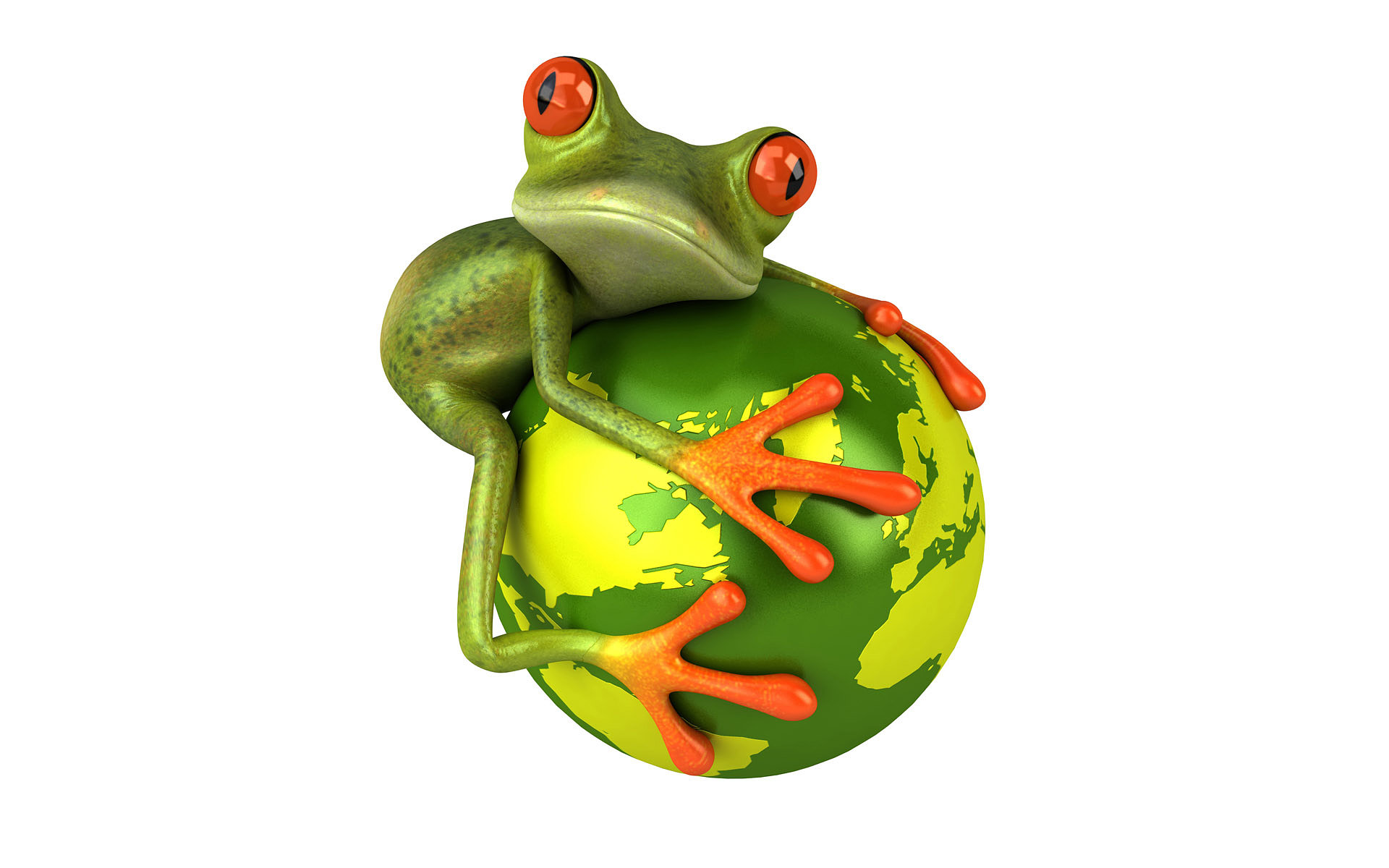 Save the planet full hd wallpaper and background image - Frog cartoon wallpaper ...