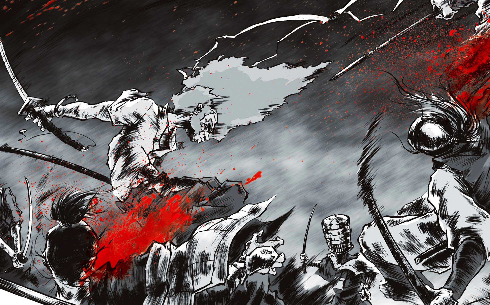 Afro Samurai Full HD Wallpaper And Background Image