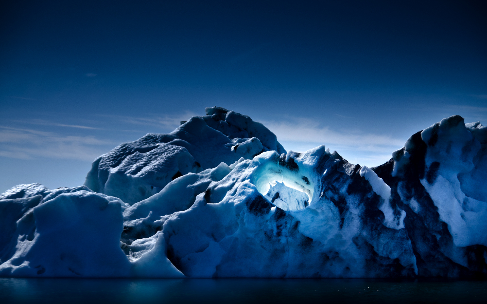 Earth - Ice  Glacier Wallpaper