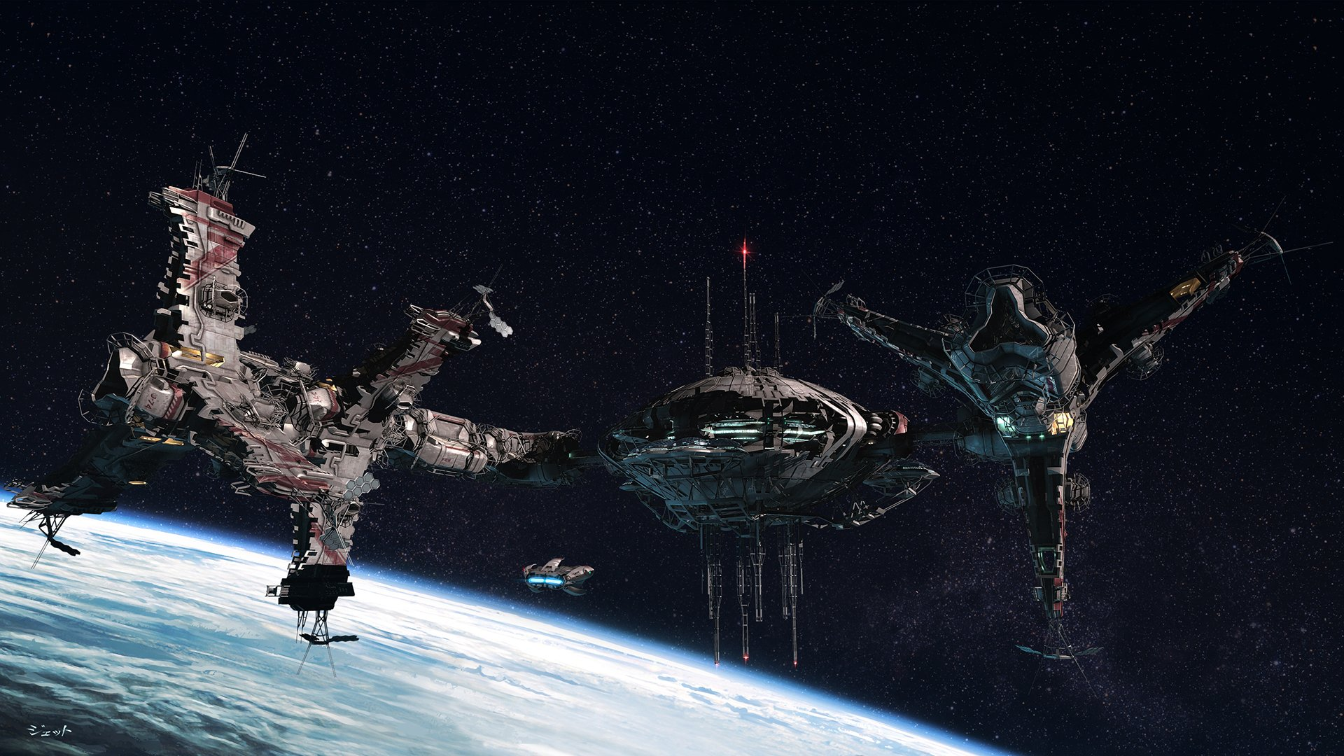 Sci Fi - Battlestar Galactica  Wallpaper