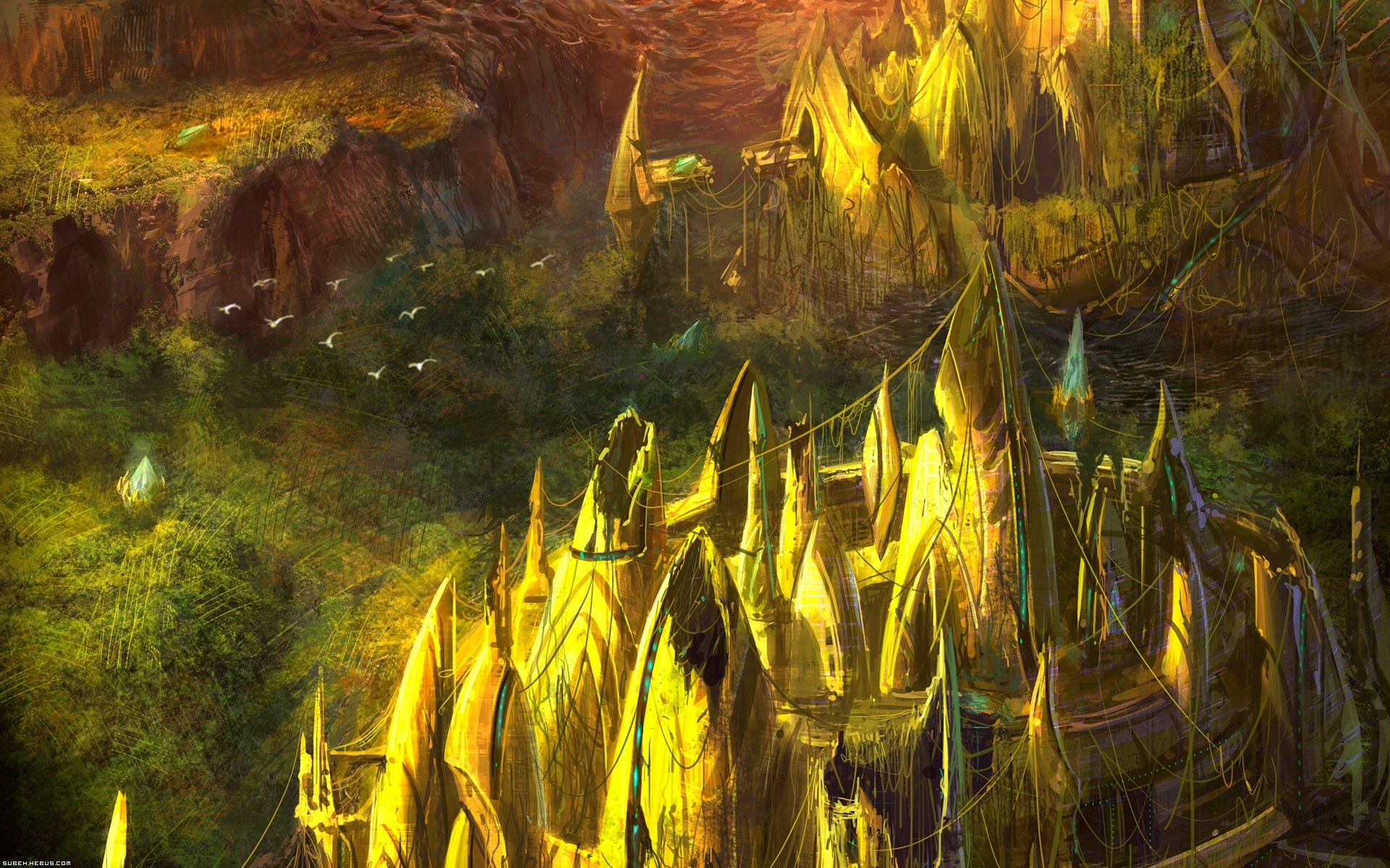 Starcraft Hd Wallpaper Background Image 1920x1200 Id