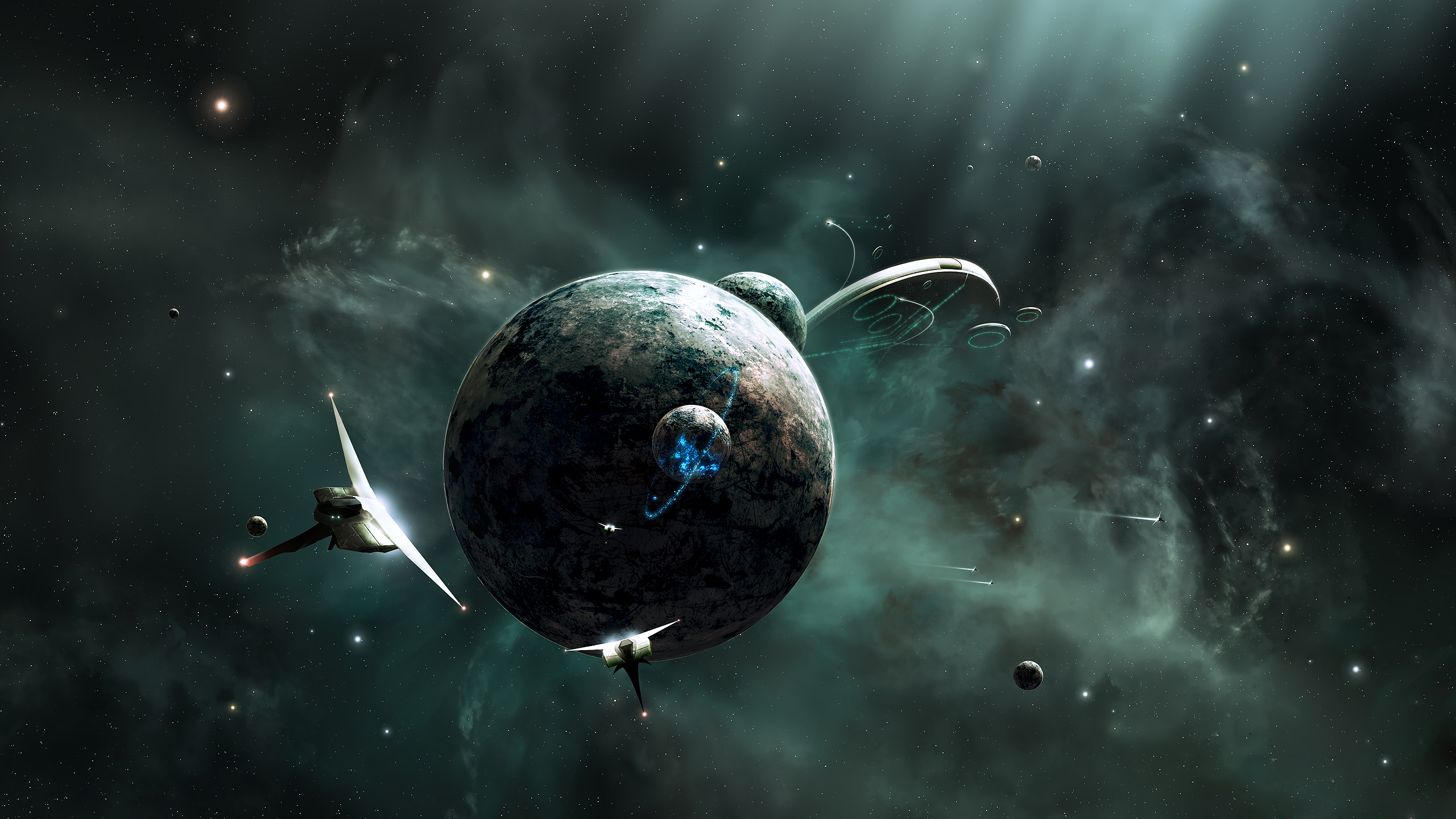 planet full hd wallpaper and background image | 2560x1440 | id:199412