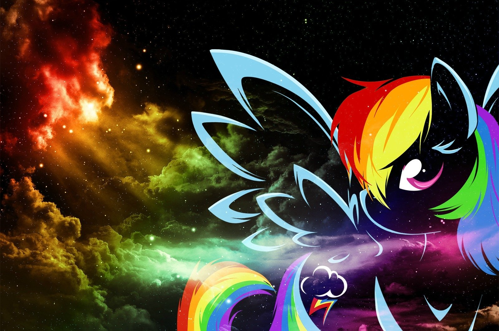 My Little Pony · Rainbow Dash · Vector · Wallpapers ID:200520