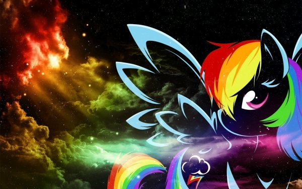 TV Show My Little Pony: Friendship is Magic My Little Pony Rainbow Dash Vector HD Wallpaper | Background Image
