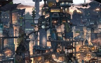 Fantasy - Großstadt Wallpapers and Backgrounds ID : 201530