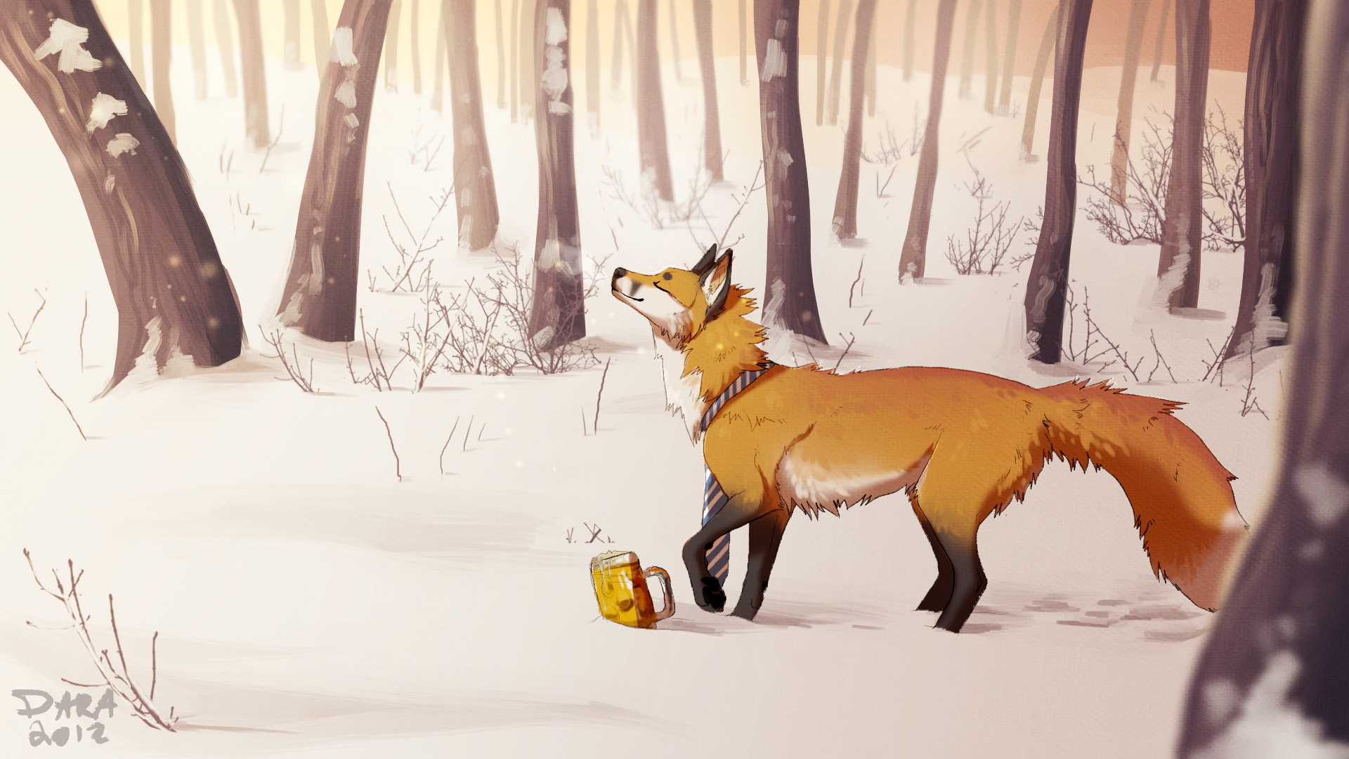Fox Full HD Wallpaper And Background Image