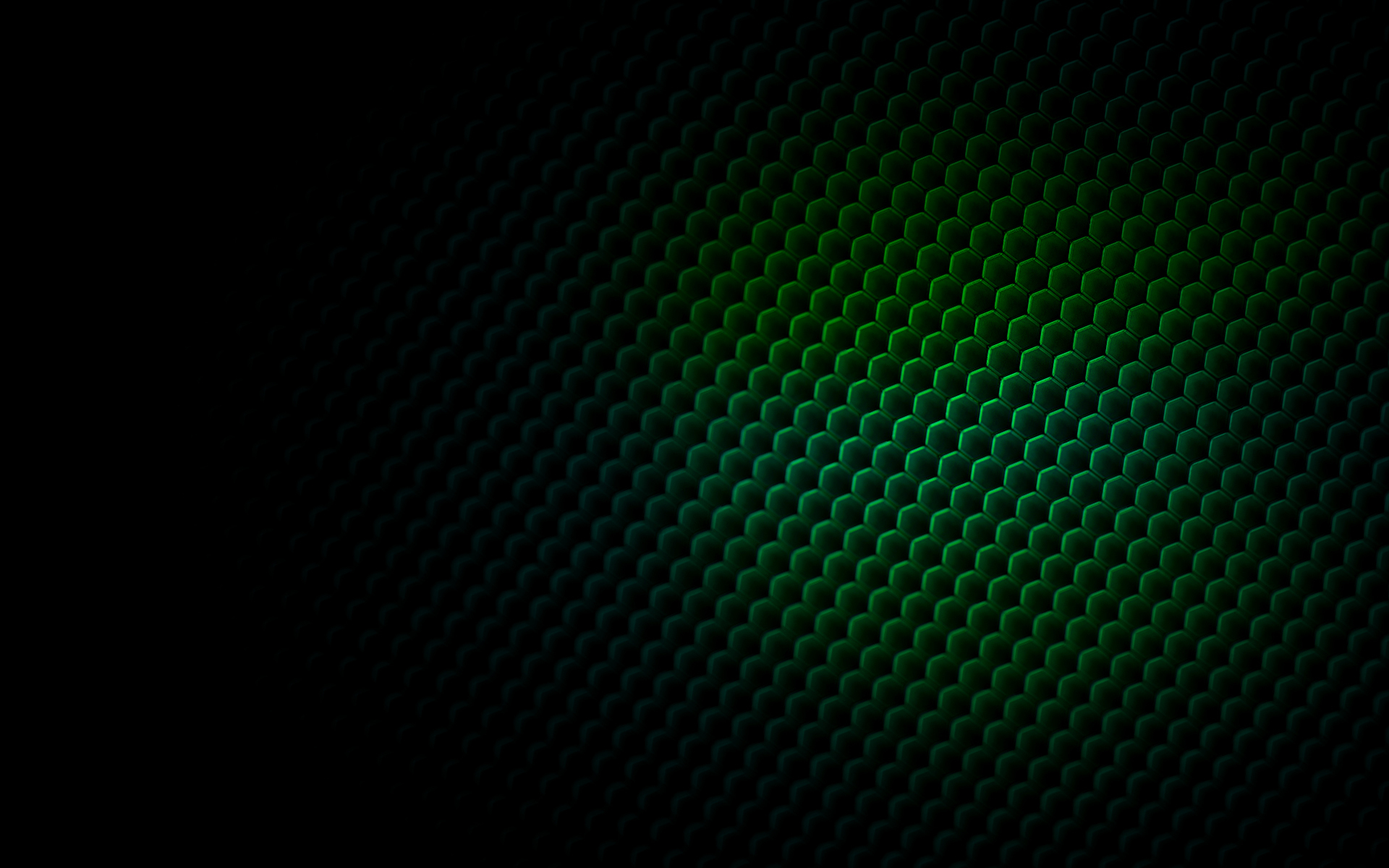 Abstract - Pattern  - Bee Hive - Green - 3d - Cgi Wallpaper