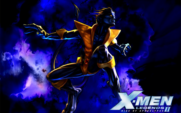 Video Game X-Men Legends II: Rise of Apocalypse X-Men Nightcrawler HD Wallpaper | Background Image