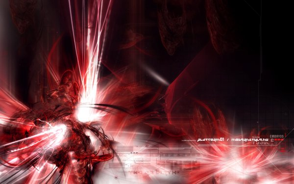 Abstract Red Vector HD Wallpaper | Background Image