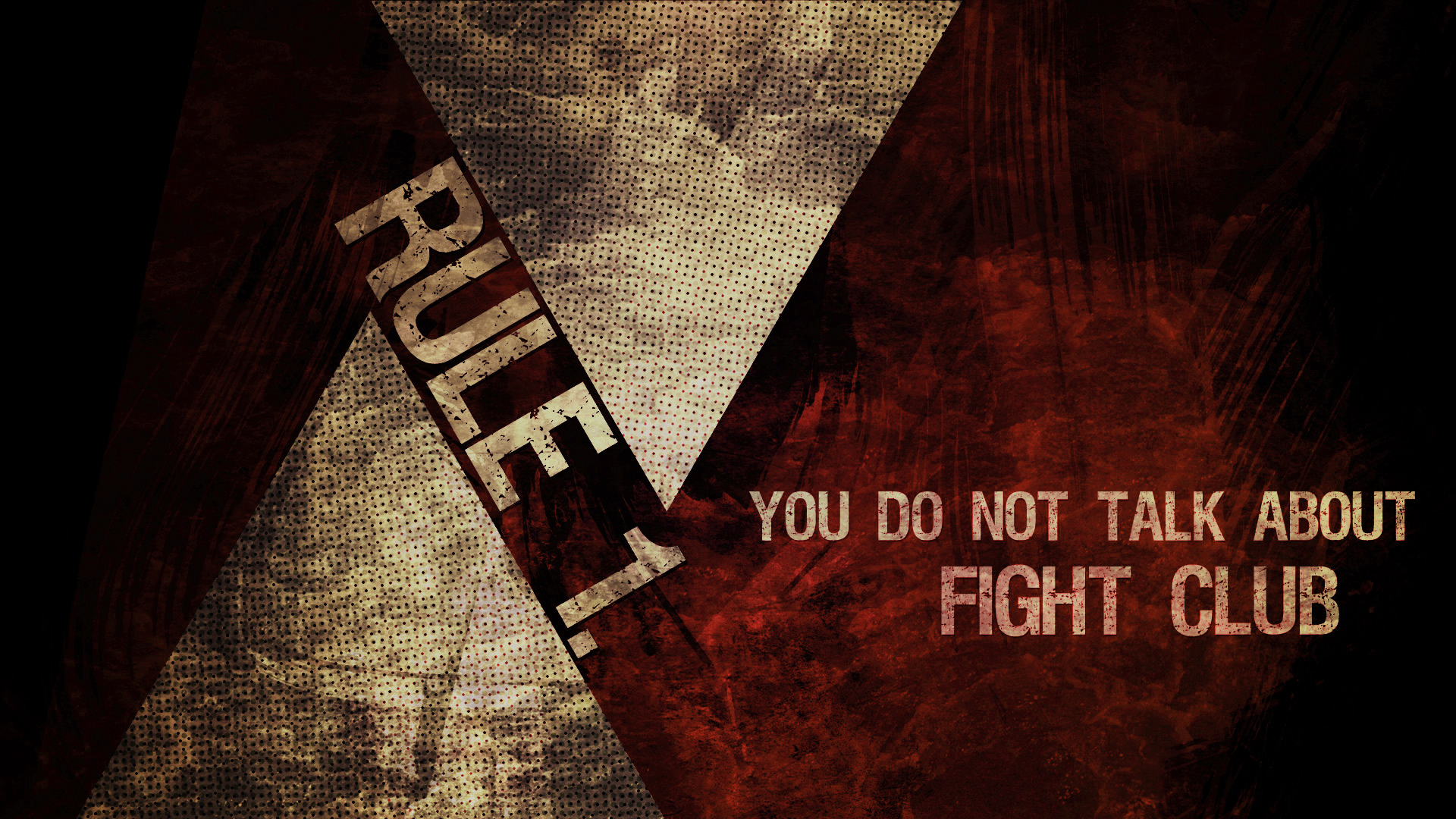 Movie - Fight Club  Fight Cub Wallpaper