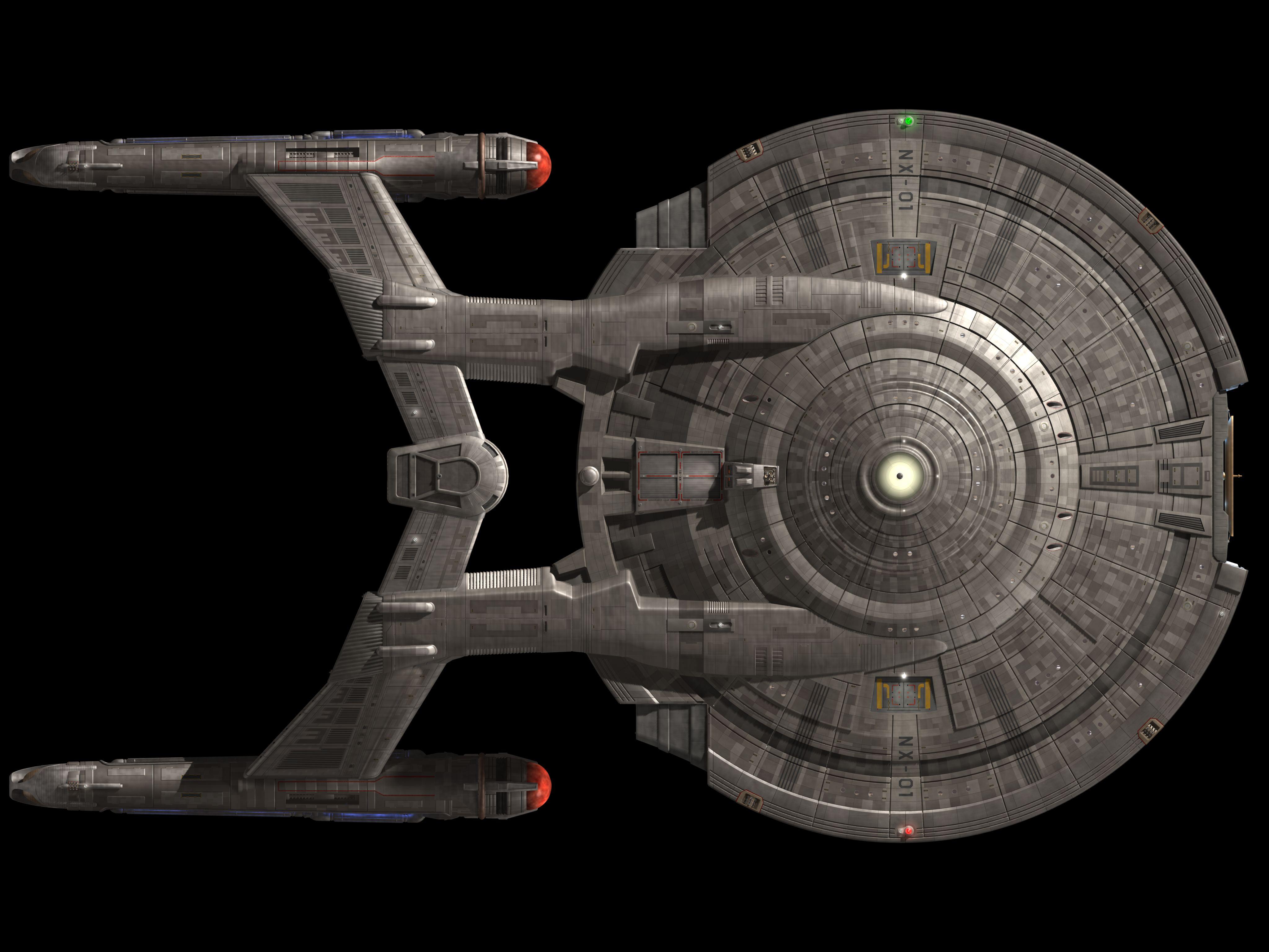 USS Enterprise NX01 4k Ultra HD Wallpaper | Hintergrund ... on