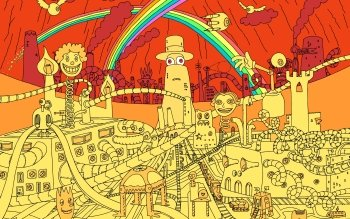 Мультики - Superjail Wallpapers and Backgrounds ID : 205930