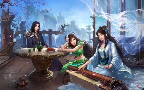 Fantasy Artistic Jade Dynasty HD Wallpaper | Background Image