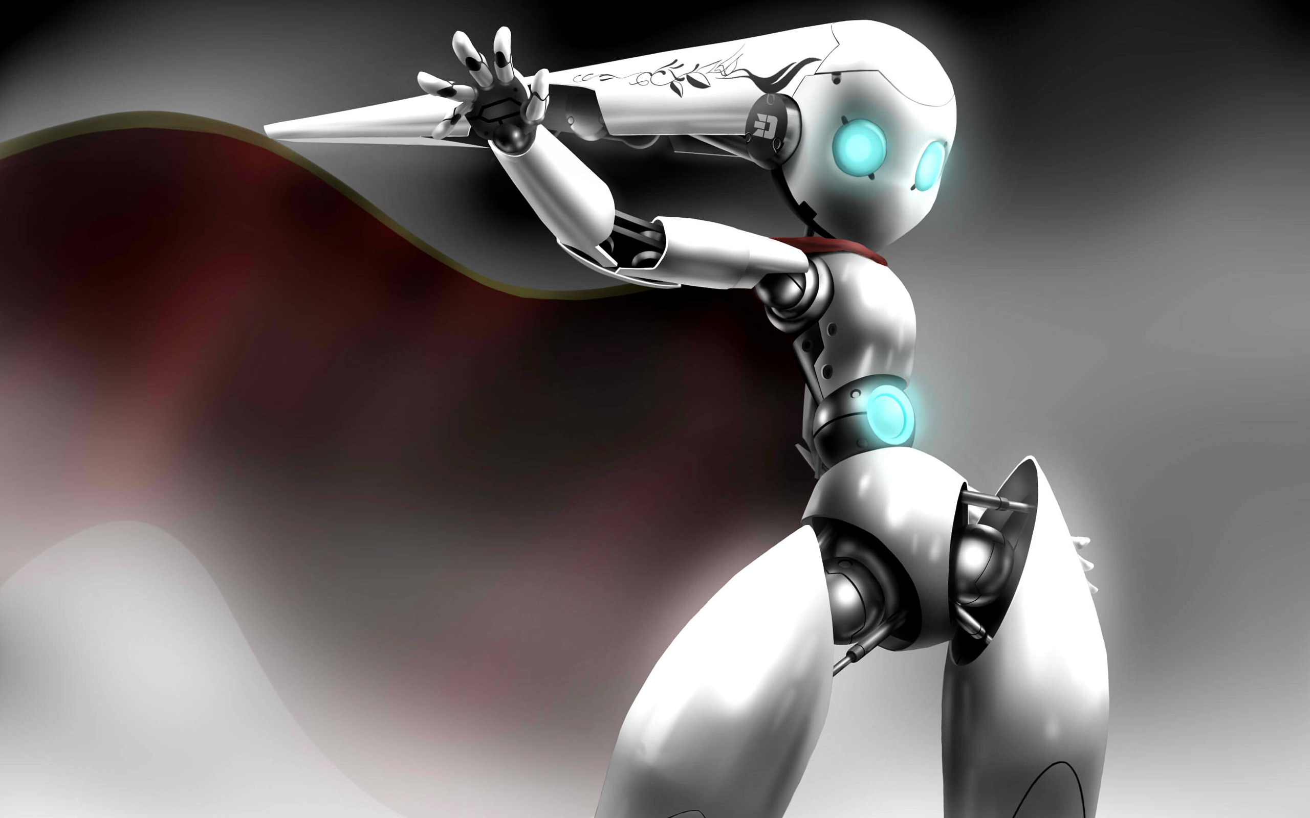 Robot HD Wallpaper | Background Image | 2560x1600 | ID:209302 - Wallpaper Abyss