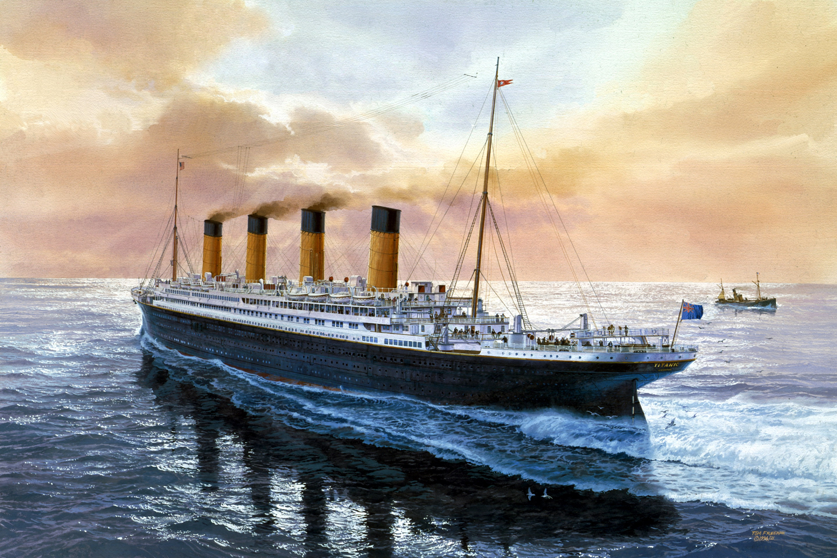 titanic full hd wallpaper and background image | 2880x1920 | id:209382