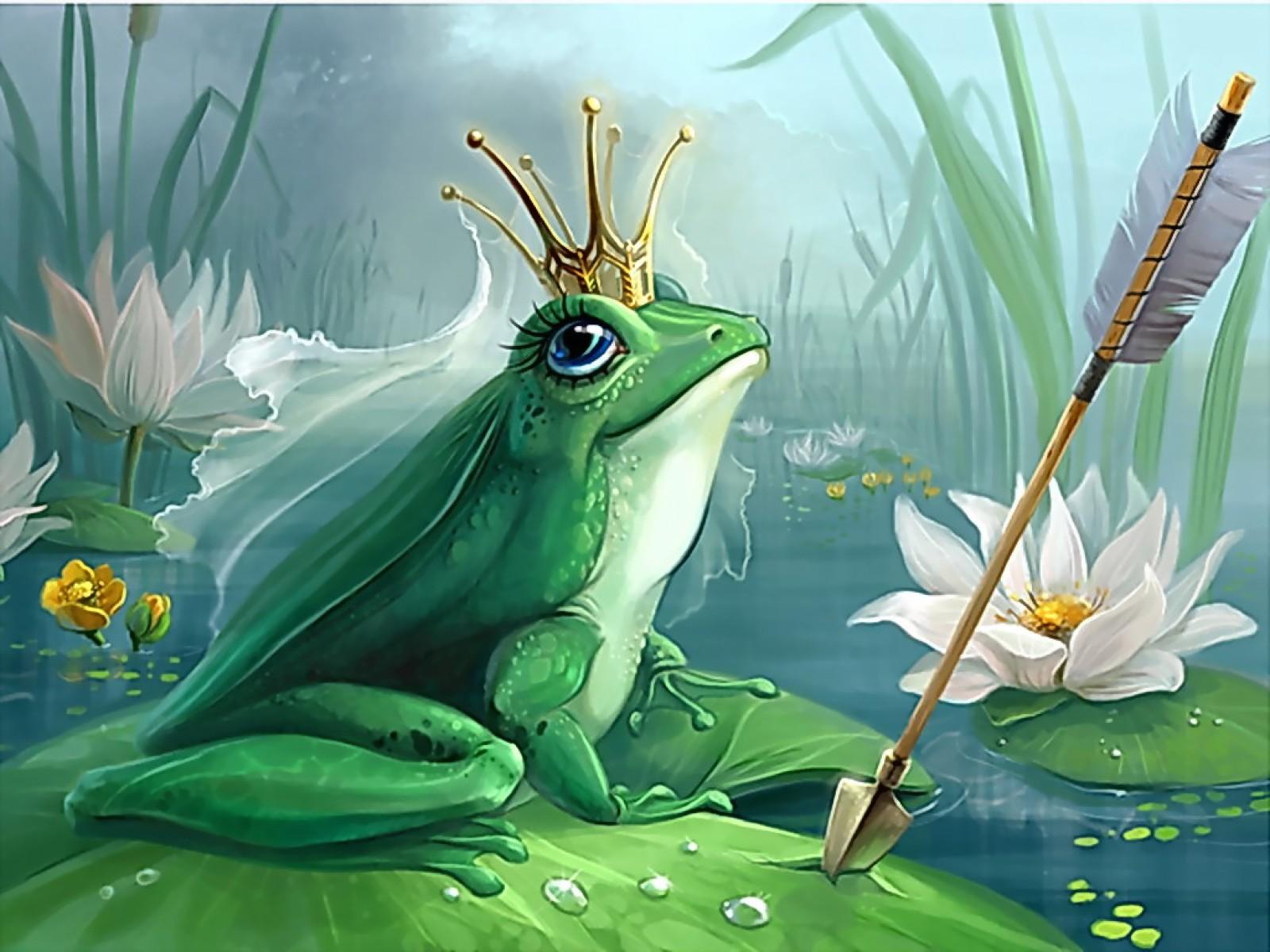 сказка лягушка-царевна читать онлайн