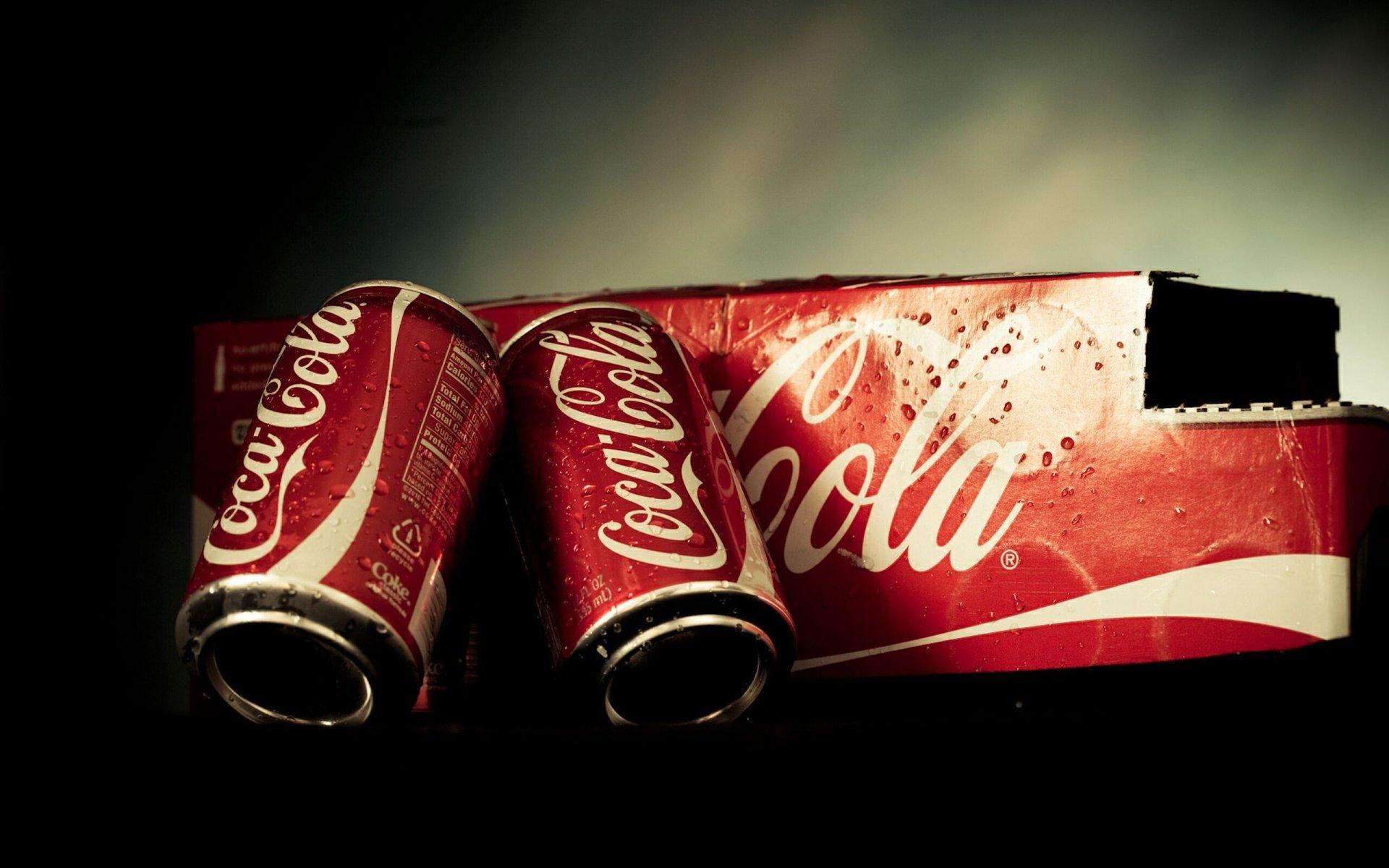 Продукты - Coca Cola  Обои