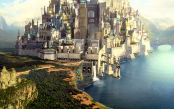 Fantasy - Großstadt Wallpapers and Backgrounds ID : 210502