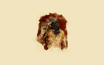Dark - Gas Mask Wallpapers and Backgrounds ID : 212520