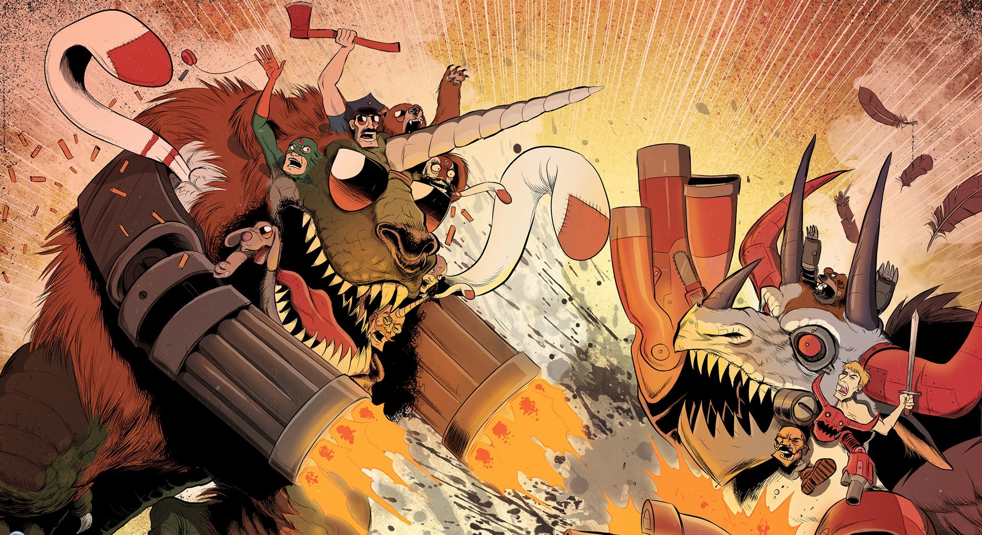 Axe Cop Wallpaper And Background Image
