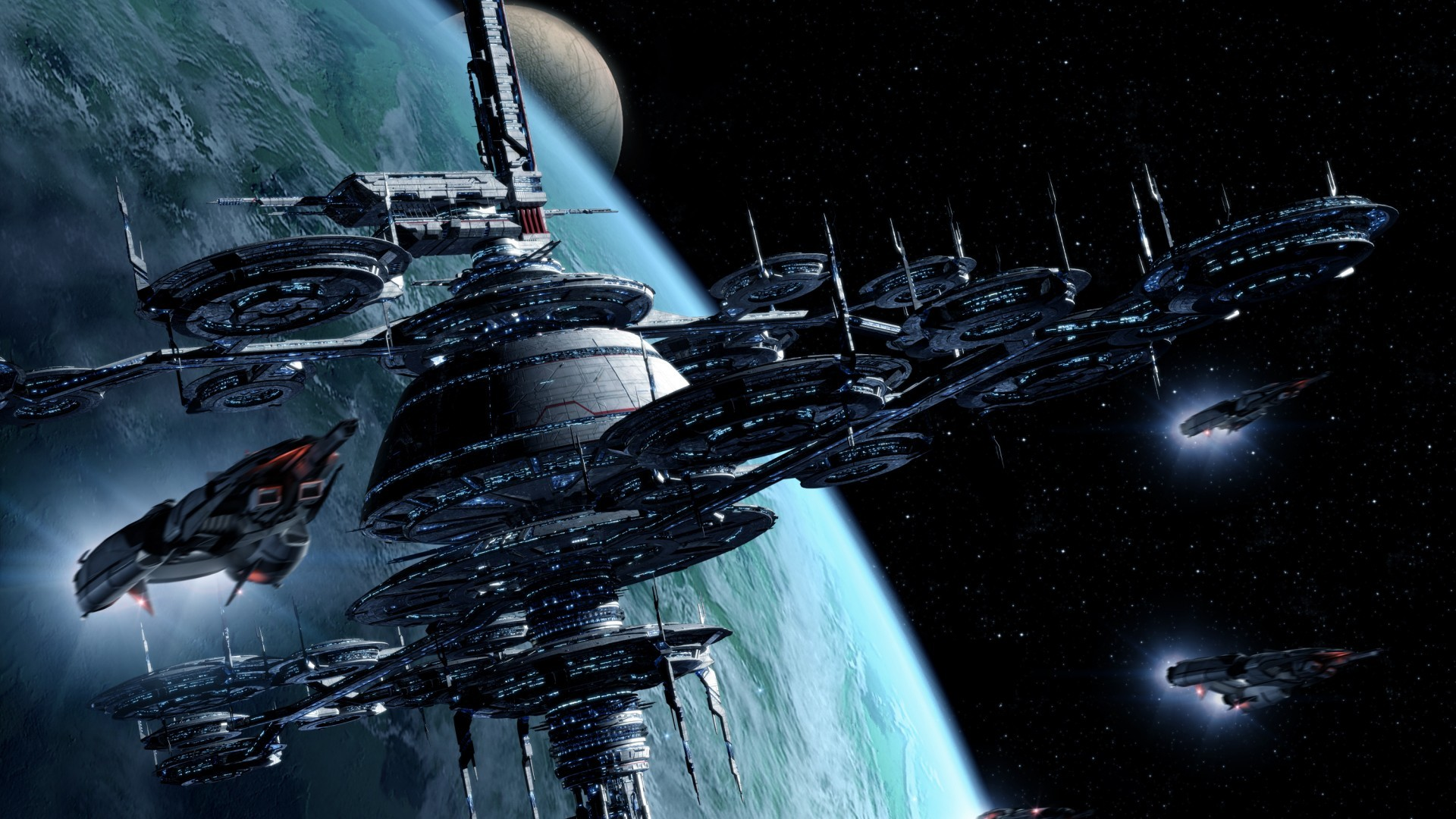 science fiction atlantis space base - photo #15