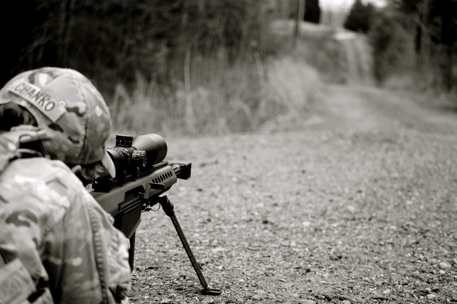 Militar - Francotirador  Fondo de Pantalla
