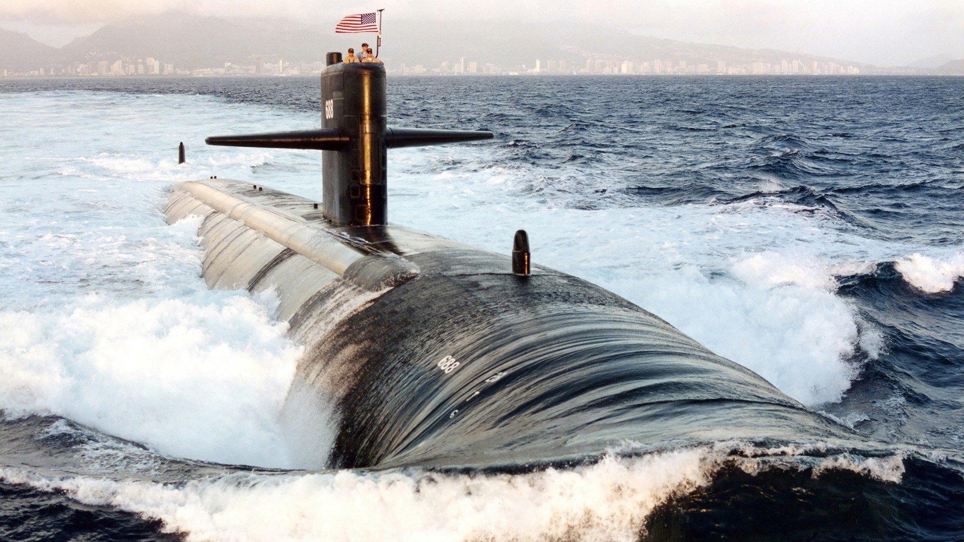 Militar - Submarino  Fondo de Pantalla
