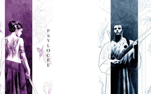 Bande-dessinées Psylocke Punisher Fond d'écran HD   Image