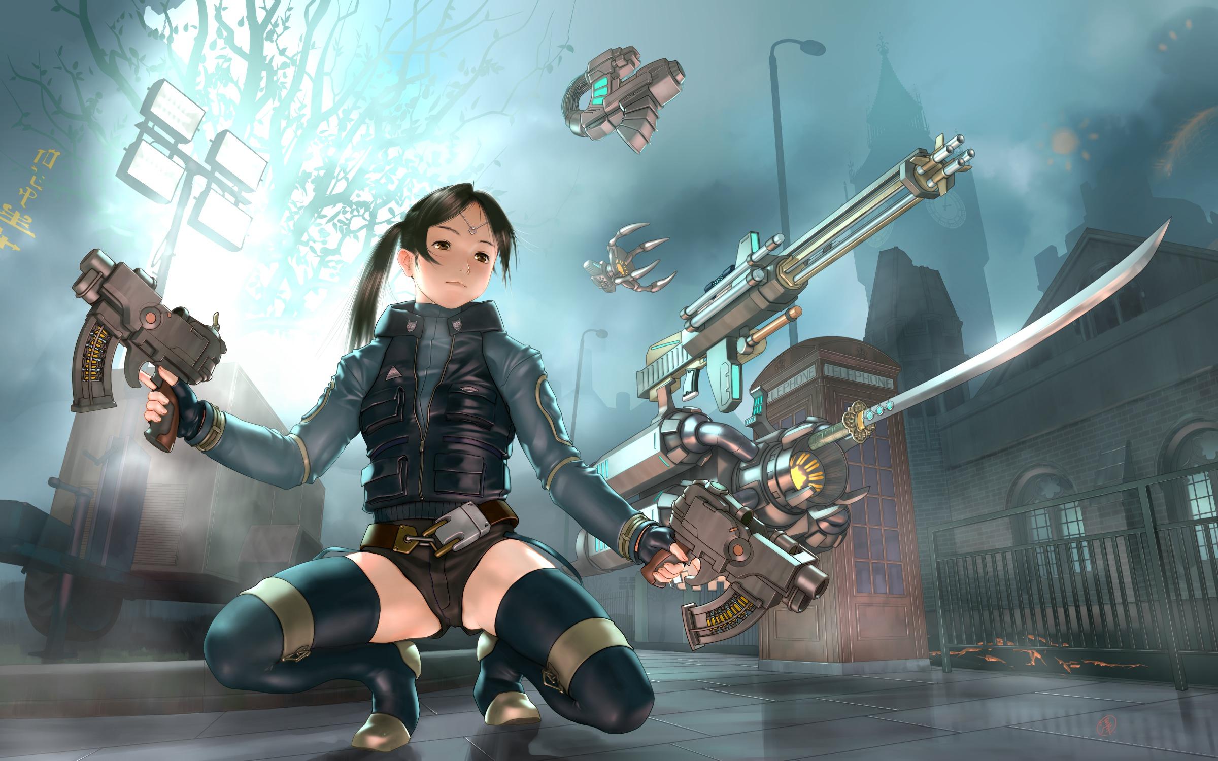 gun girl computer wallpapers - photo #34