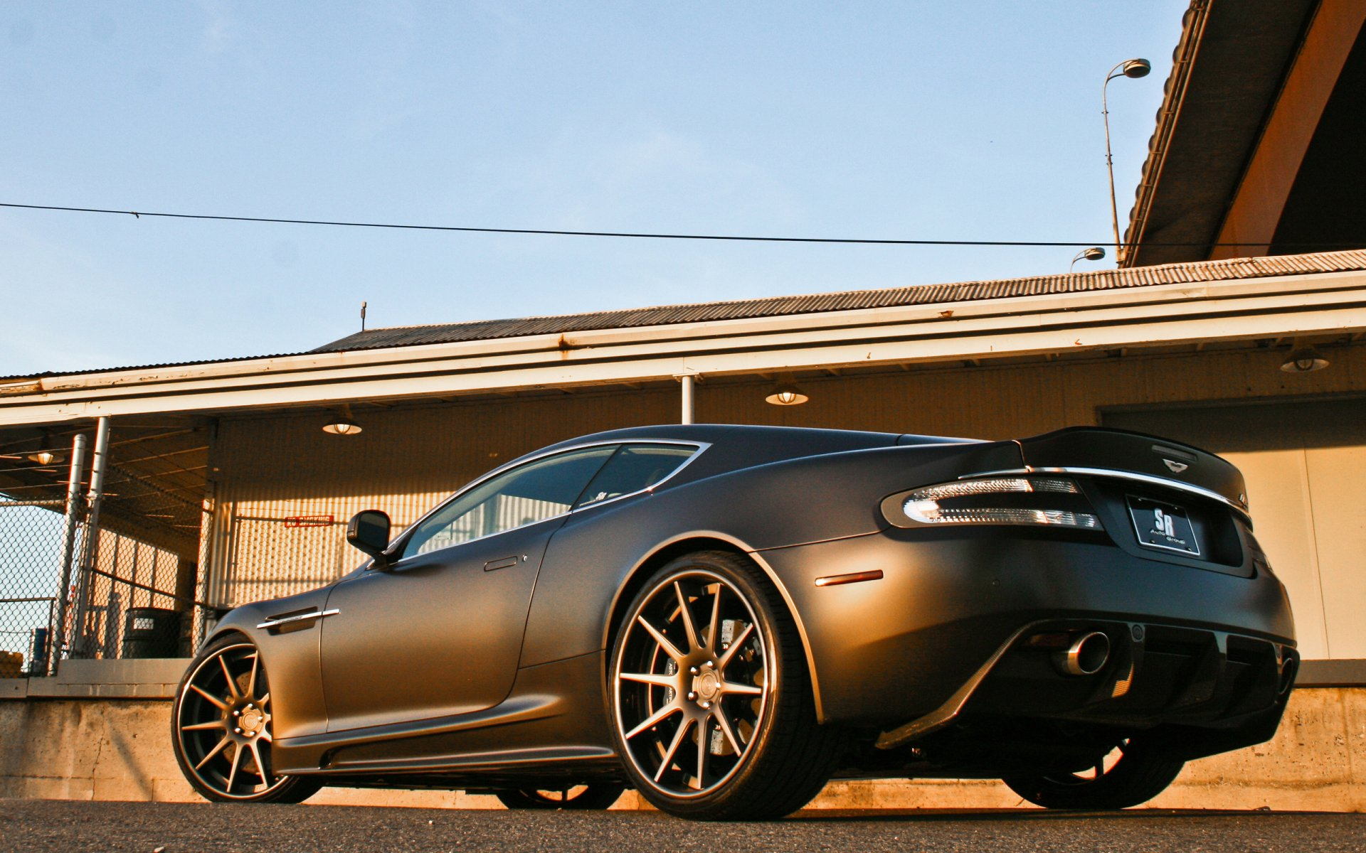 Vehicles - Aston Martin DBS  Wallpaper