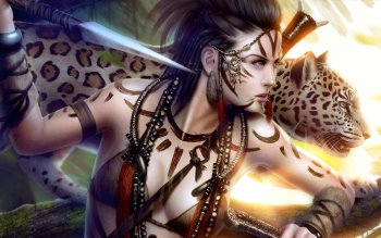 Fantasy - Women Warrior Wallpapers and Backgrounds ID : 218420