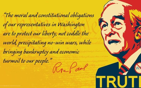 Misc Political Ron Paul Politics HD Wallpaper   Background Image