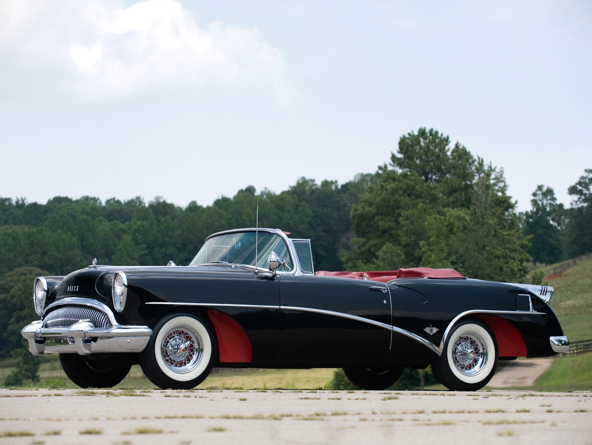 Vehicles - 1953 Buick Skylark Convertible Coupe  1954 Buick Skylark Convertible Wallpaper