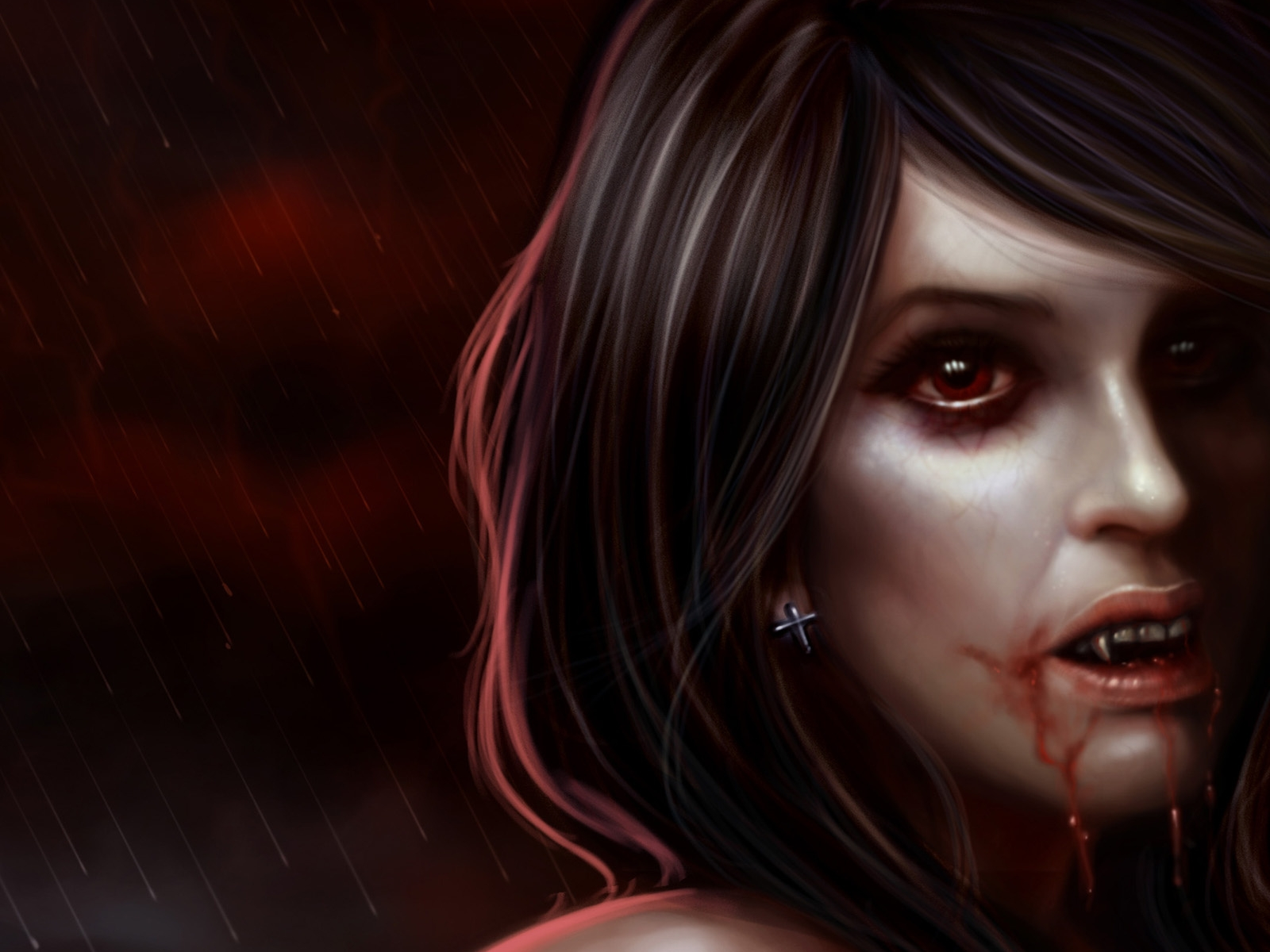 Vampire Wallpaper and Background Image | 1600x1200 | ID ...