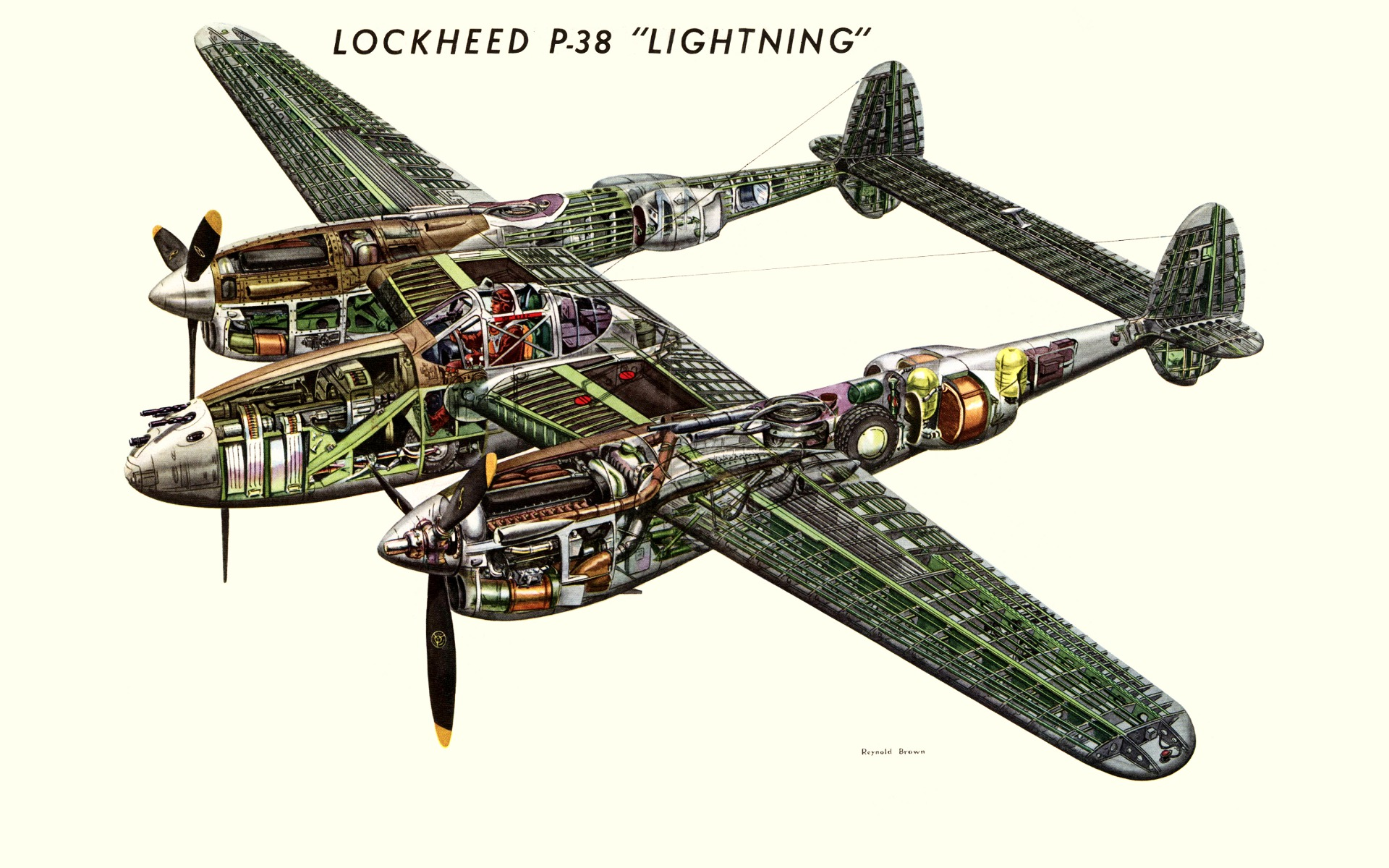 P 38 Lightning Schematic - Data Wiring Diagram Update